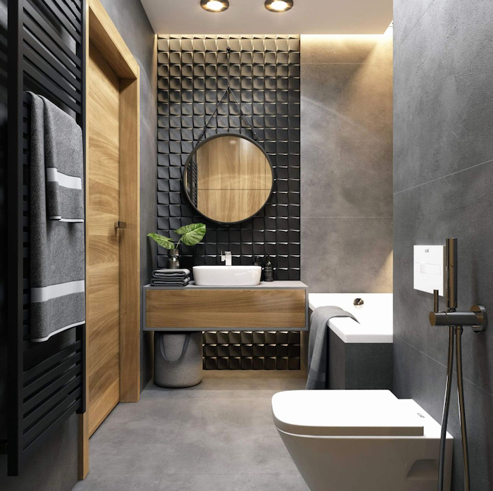 5 Lovely Bathroom Accent Wall Design Ideas: 1001 + Ideas For Beautiful Bathroom Designs For Small