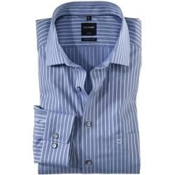 Photo of Olymp Luxor shirt, modern fit, Global Kent, Royal, 41 Olympolymp