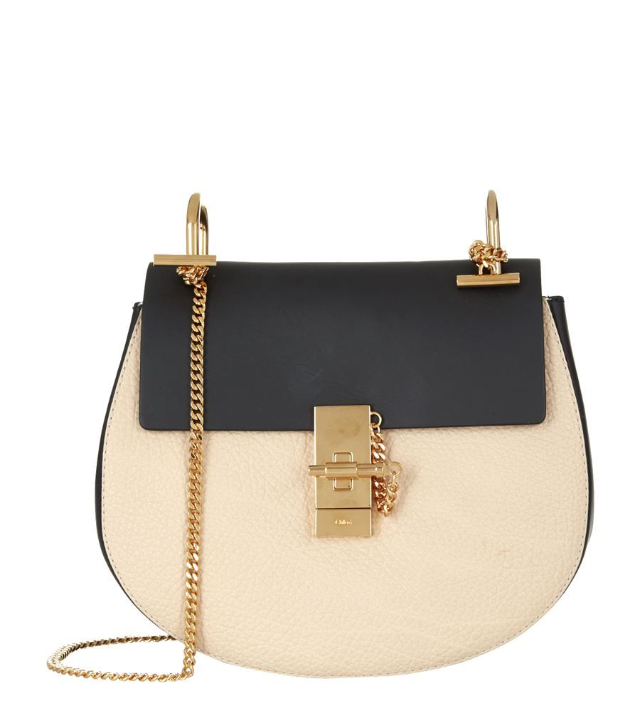 Chloé Small Drew Bicolour Shoulder Bag | Harrods