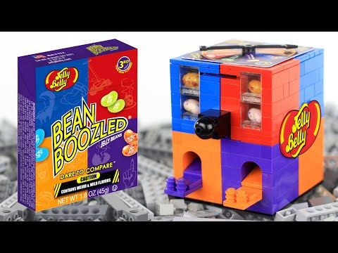 LEGO Jelly Belly Bean Boozled Candy Machine - YouTube | Parkers ...
