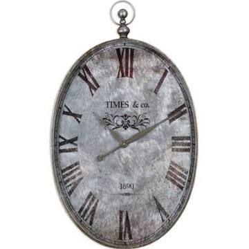 Small Wall Clock For Bathroom Silver Wall Clock Distressed Wall