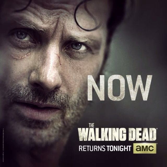The action starts NOW... Tweet live with #TWD!