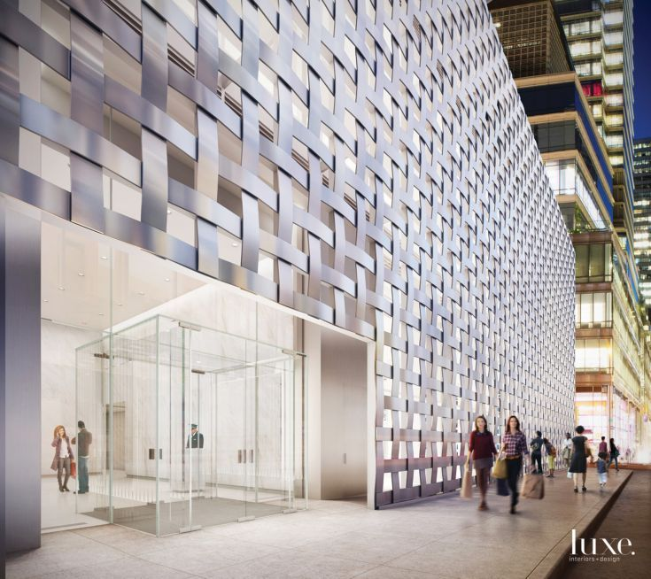 7. New York: 200 East 59th Street  Overlooking Central Park, Macklowe Properties' latest creation occupies land in the Upper East Side, on the corner of 59th Street and 3rd Avenue, and is reminiscent of one of its more famous buildings, the glassy, cube-like Apple Store on 5th Avenue.