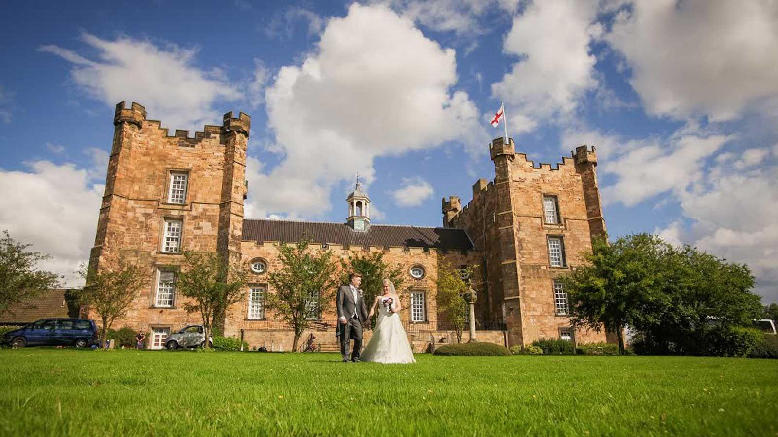 Lumley Castle English Luxury Castle Hotel In Durham Wedding