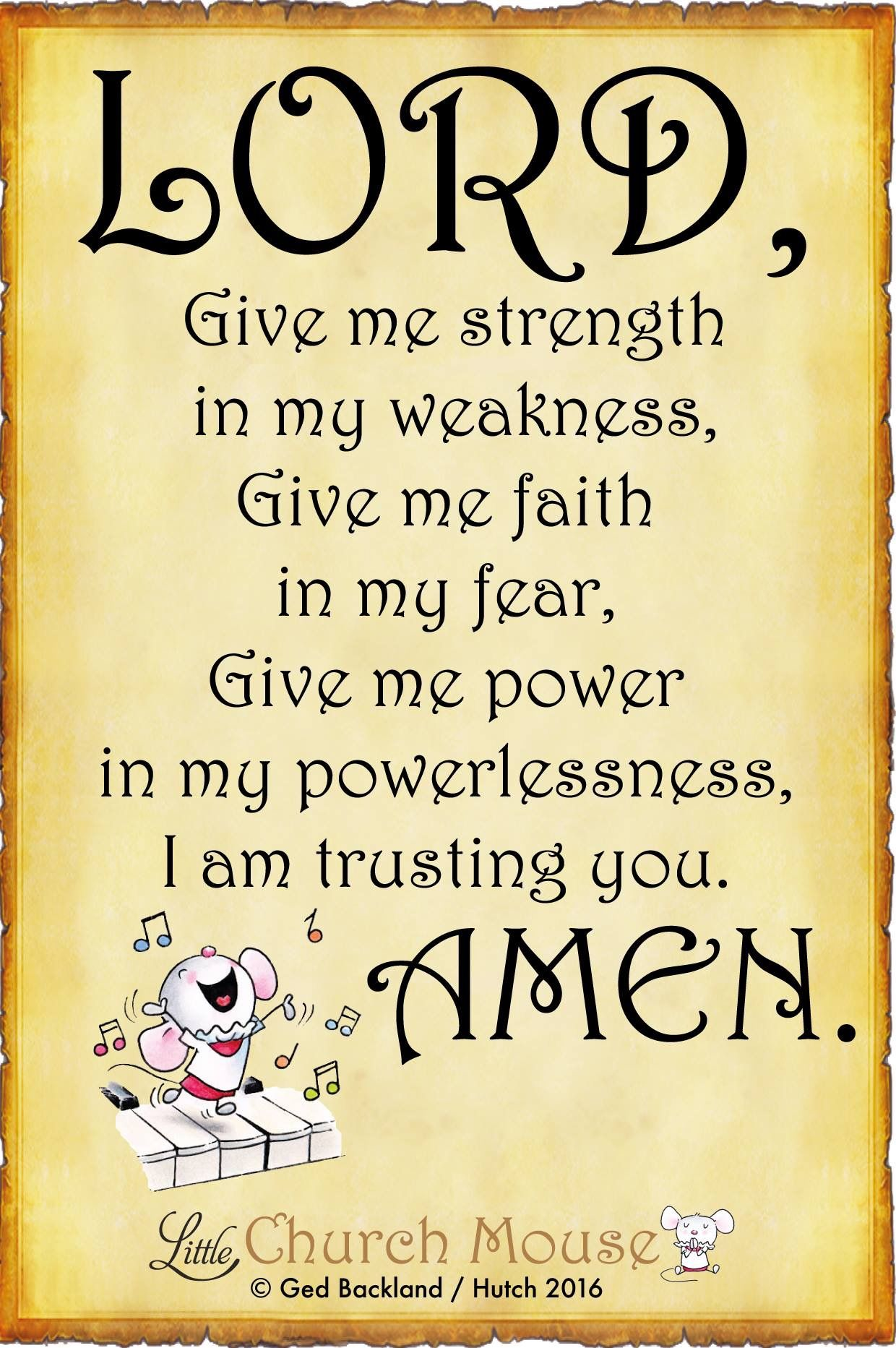 Little Church Mouse Prayer quotes, Faith, Spiritual quotes