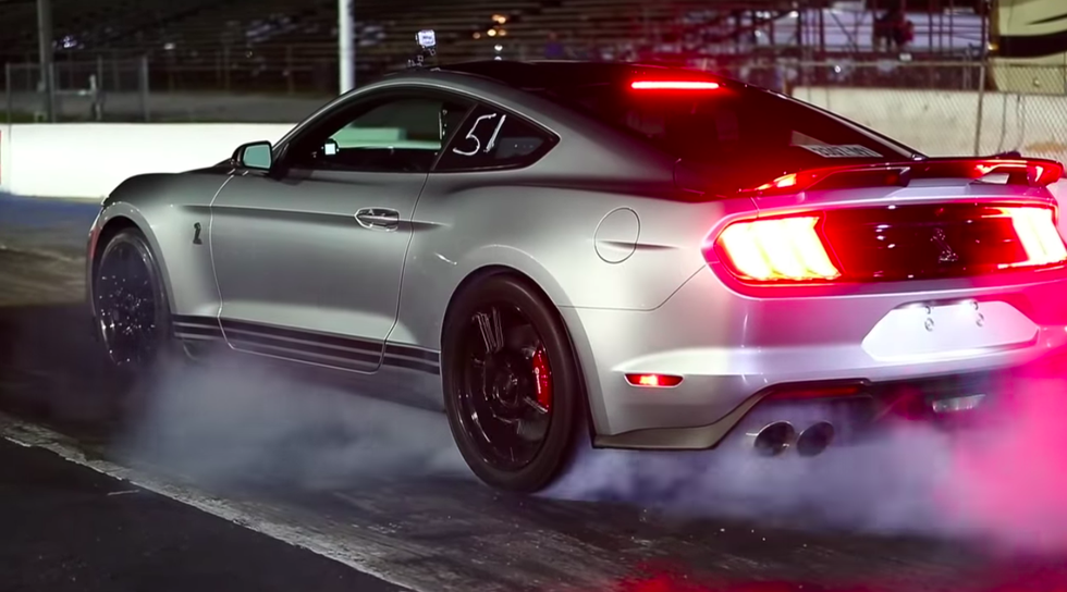 This Ford Mustang Shelby Gt500 Is Tuned To 945 Hp In 2020