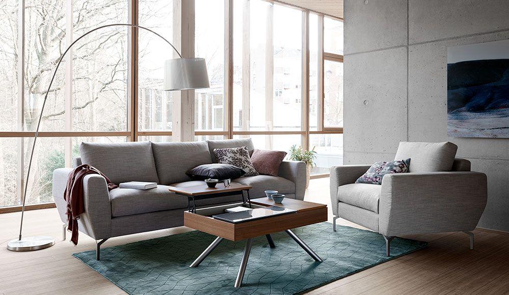 livingroom #concrete #greyinterior BoConcept Nice Boconcept - wohnzimmer klassisch modern