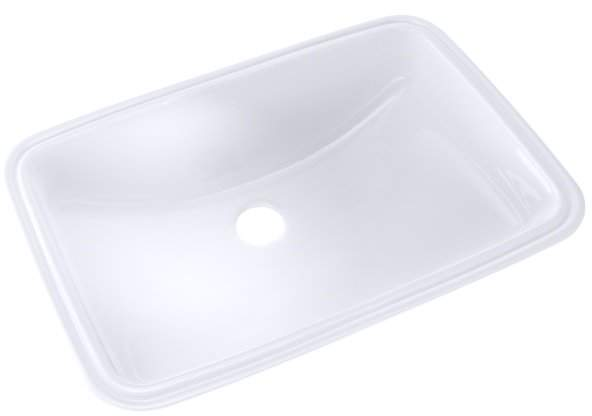 Augusta Vitreous China Rectangular Undermount Bathroom Sink With Overflow Products In 2019 Undermount Bathroom Sink Wall Mounted Bathroom Sinks Modern Ba