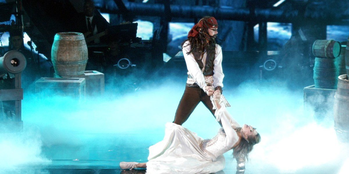 Here you guys go, Riker and Allison's DWTS Disney Night performance!!!!!! I LOVE Captain Jack Sparrow!!!!!