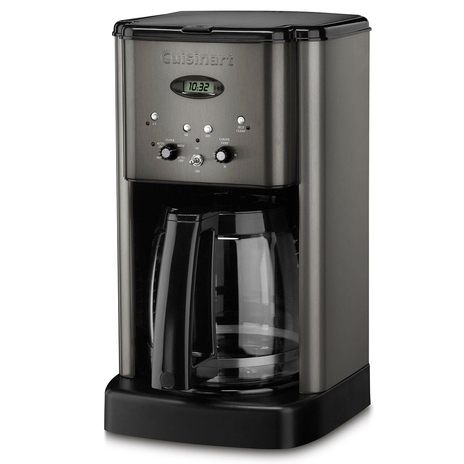 Cuisinart brew central black stainless steel 12cup