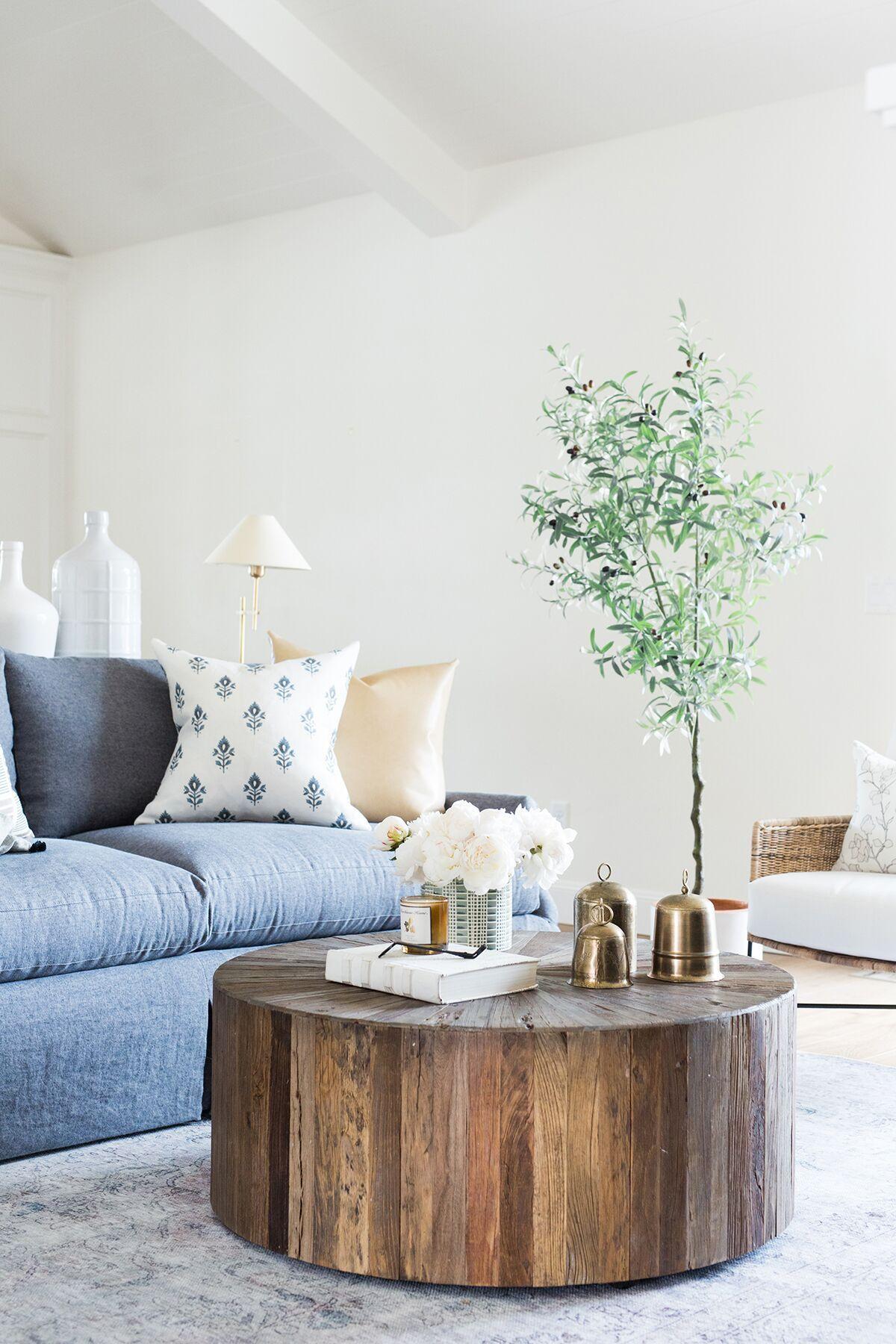 Behind The Scenes Designer Pillow Photoshoot Studio Mcgee Farmhouse Decor Living Room Coffee Table Living Room Decor [ 1800 x 1200 Pixel ]