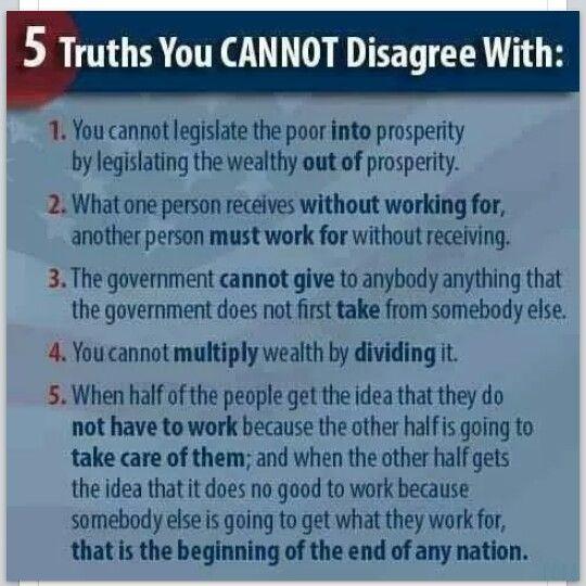 5 truths undeniably!