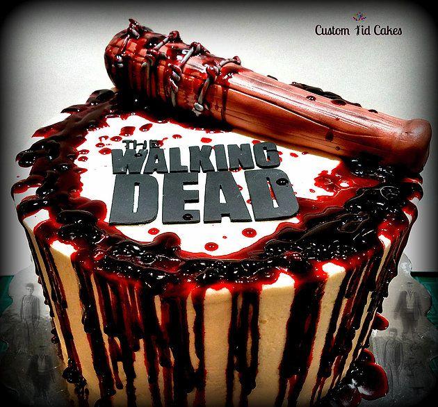Pin by Custom Kid Cakes on Custom Kid Cakes   Walking dead ...