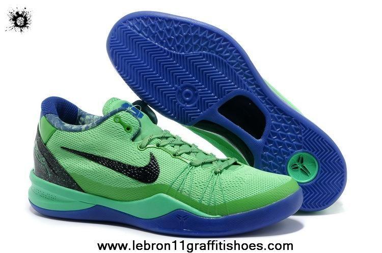 new concept 52d38 3164d New Nike Kobe 8 System Elite GC 586590-300 Poison Green Superhero