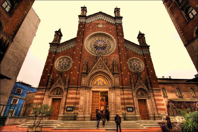 Turkey, ISTANBUL ST ANTUAN ROMAN CATHOLIC CHURCH | BEAUTIFUL