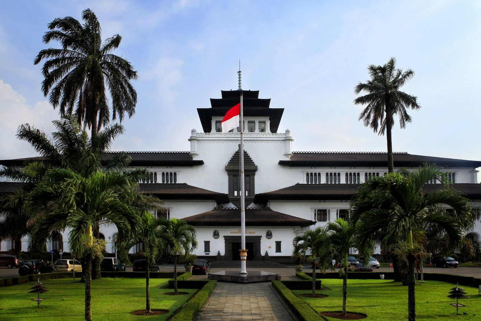 Gedung sate West java, House styles, I love indonesia