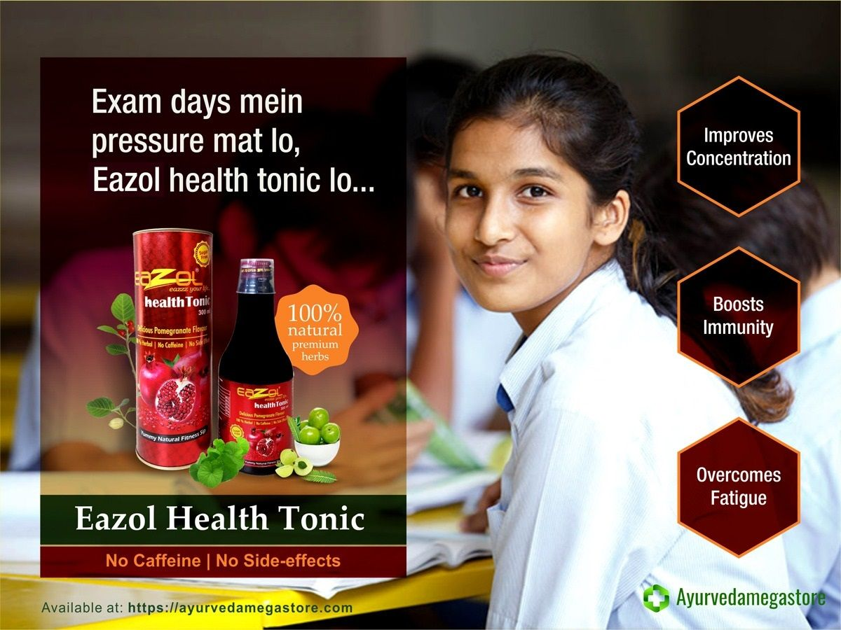 Eazol Health Tonic 100 Natural Premium Herbs Buy Online