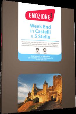 Week end castelli e 5 stelle: cofanetto Emozione 3 per due ...