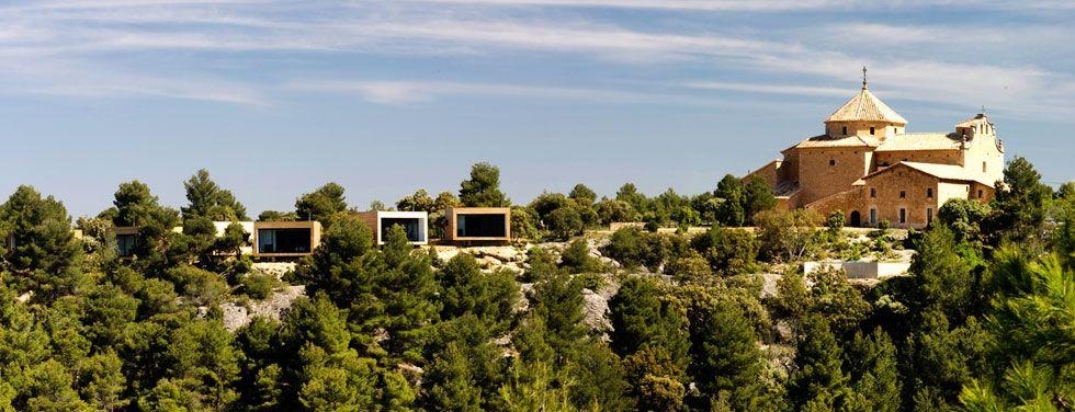 Consolacion, luxury design boutique countryside hotel in Matarranya, Spain (between Teruel, Tarragona, and Castellón).