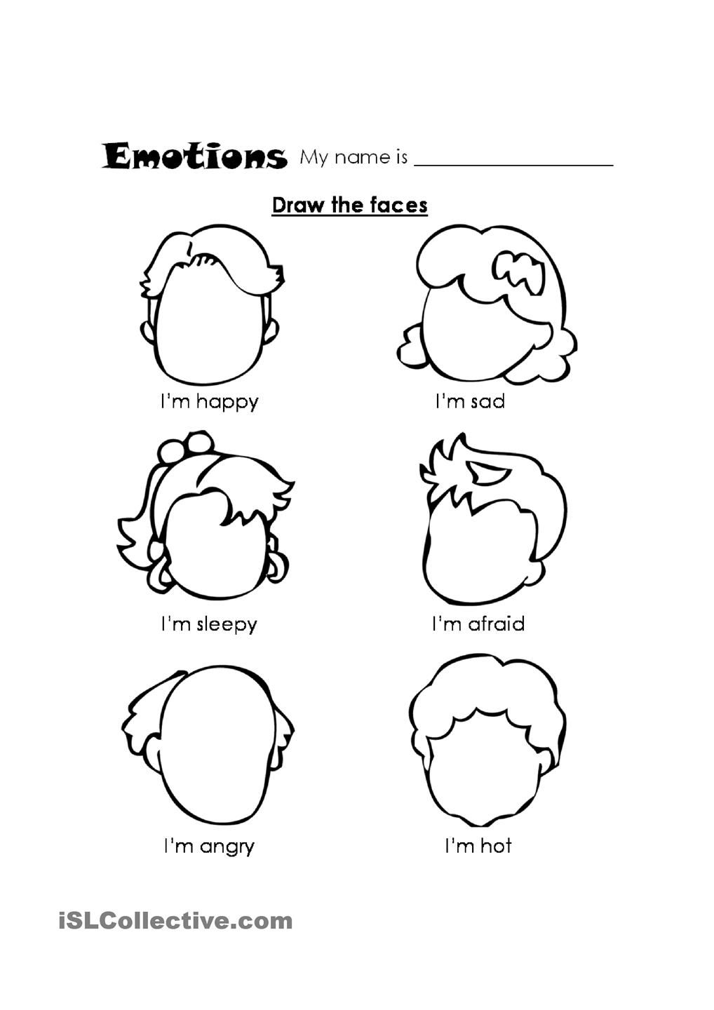 worksheet Emotions Worksheet fiar rag coat emotions and expressions worksheet full 36106 feelings 1 jpg