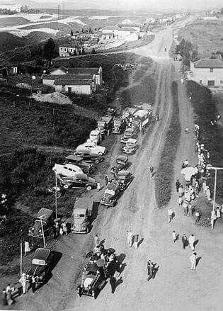 Década de 1940 - Avenida João XXIII com avenida Renata no bairro da Vila Formosa.