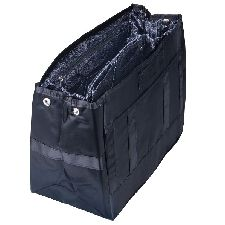For bags without dividers/compartments. TOTE Organizer - Black/Paisly by Pursfection