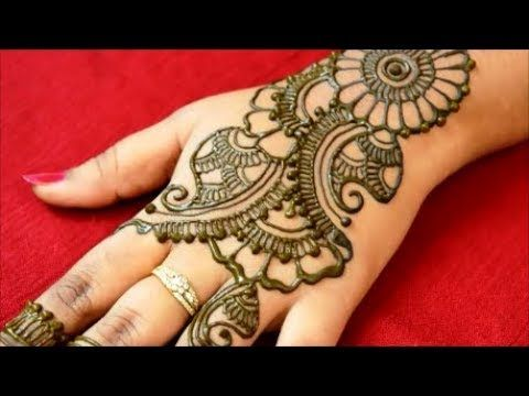 Simple Easy Mehndi Henna Designs For Hands Mehndi Designs For