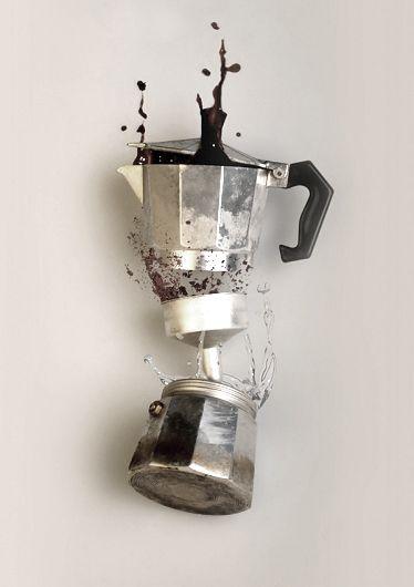 Gave foto van de Bialetti Moka pot! #coffee