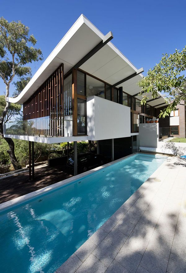 Extreme Roofline By Klopper U0026 Davis Architects