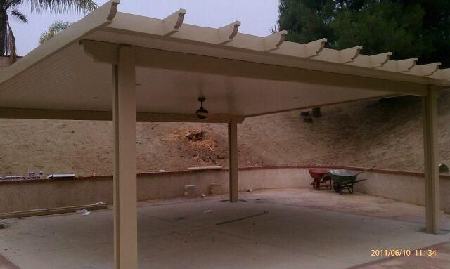 Free Standing Patio Cover Riverside By West Coast Siding Alumawood Patio  Covers