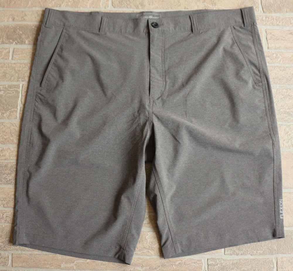 be17eadc75 Eddie Bauer Travex Hiking Shorts Mens 44 Tall T44 Gray Flexion Amphib Chino  #EddieBauer #Athletic