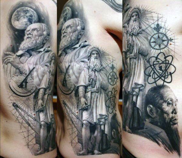 1b9576376 30 Socrates Tattoo Designs For Men - Philosopher Ink Ideas | Tattoos ...
