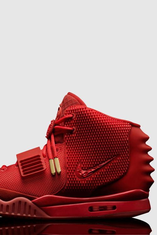 Kanye West Shoes Air Yeezy 2 Red