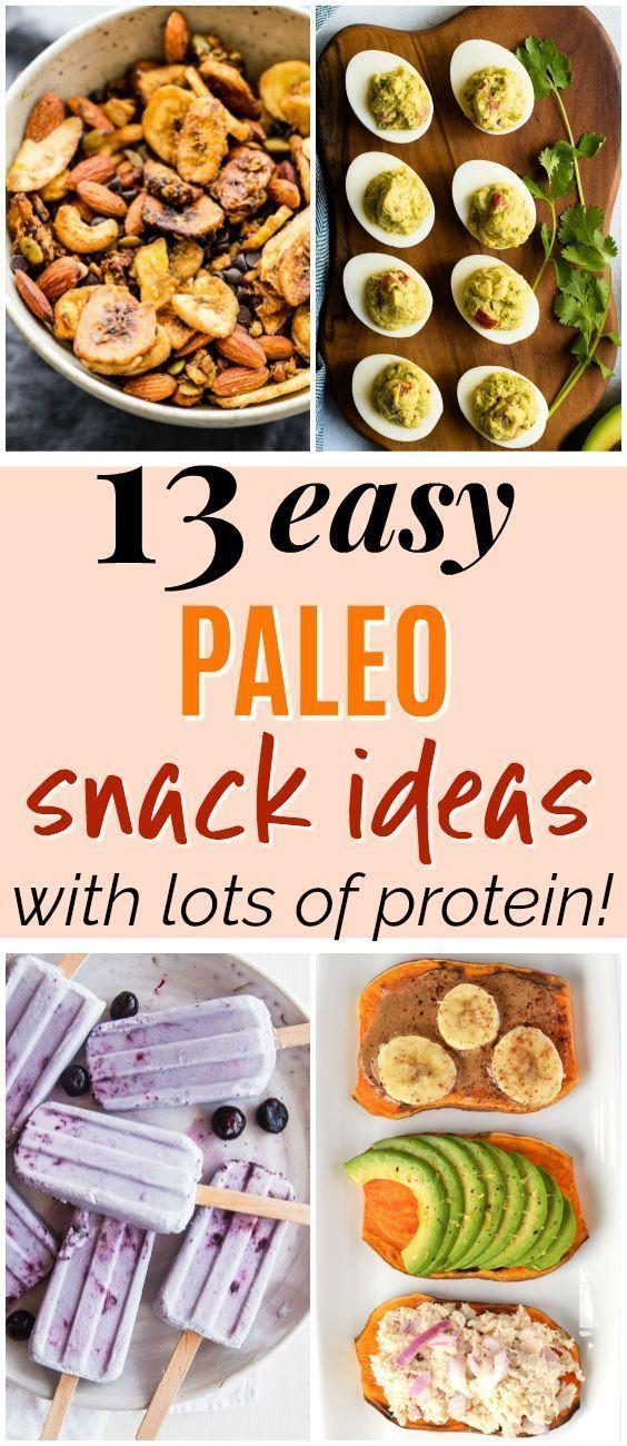 13 Creative Paleo Snacks to Keep You Full