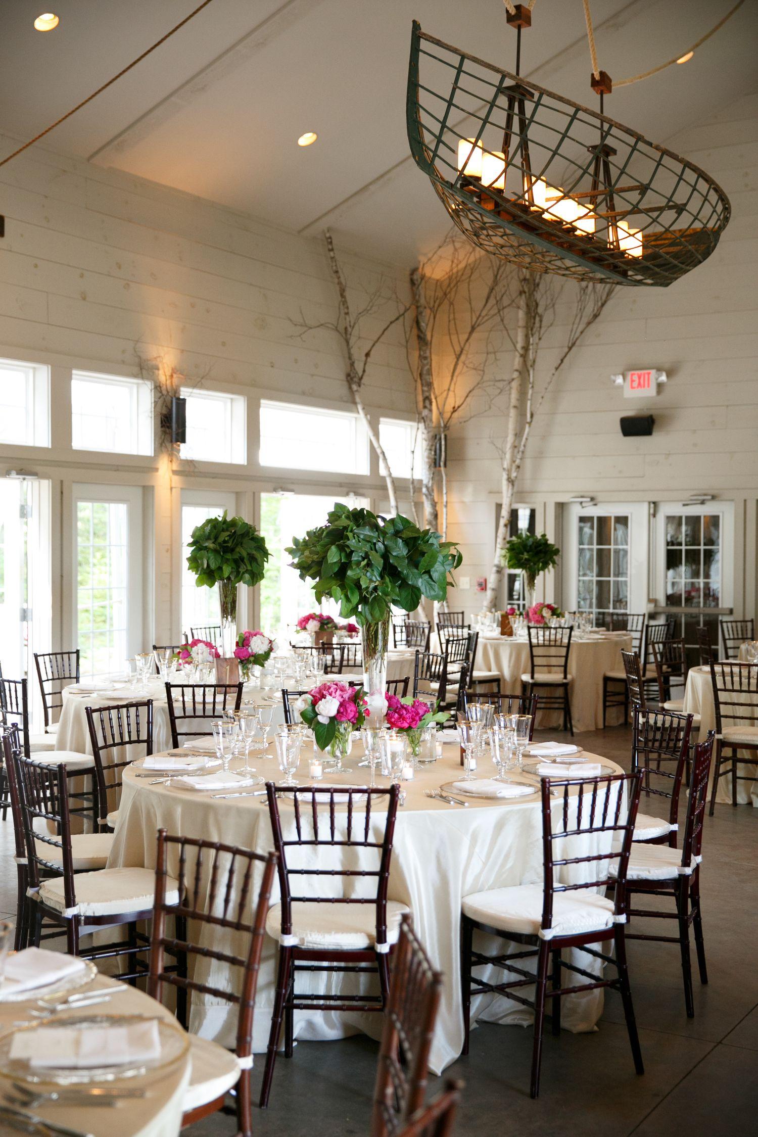 Portfolio Maine wedding, Reception inside, Space decor