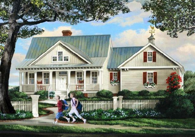 William E Poole Designs Summerfield Cottage Plan Cottage House Plans Cottage Homes