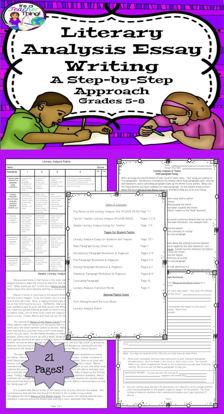 worksheet Transitions Between Paragraphs Worksheet literary analysis writing unit transition words list elements and graphic organizers