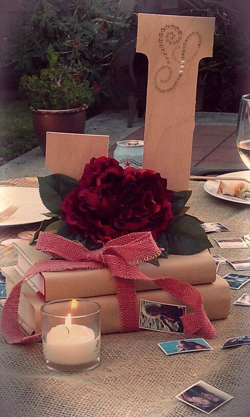 Jeri s graduation centerpieces they are so simple hot