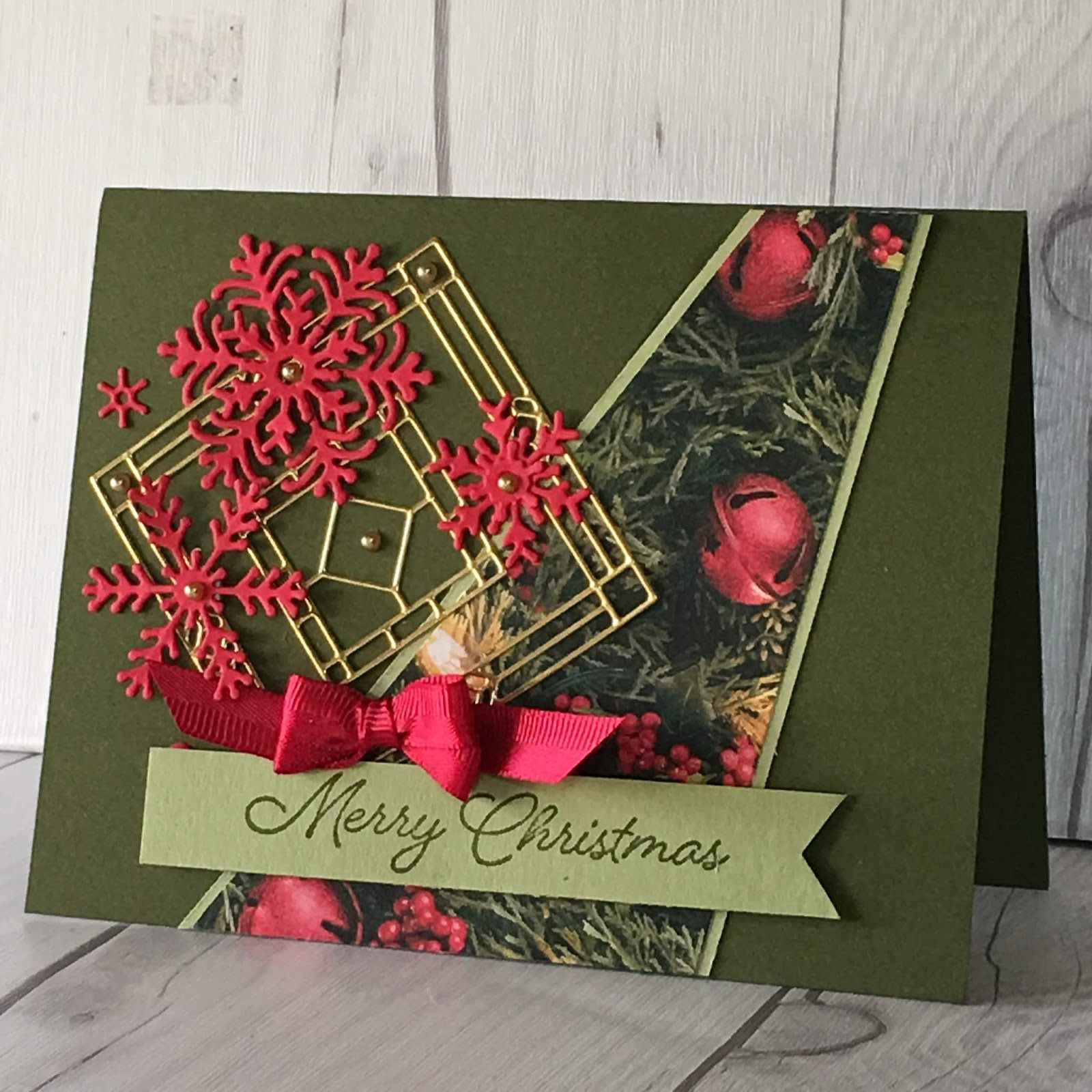 image result for stampin up all is bright  christmas