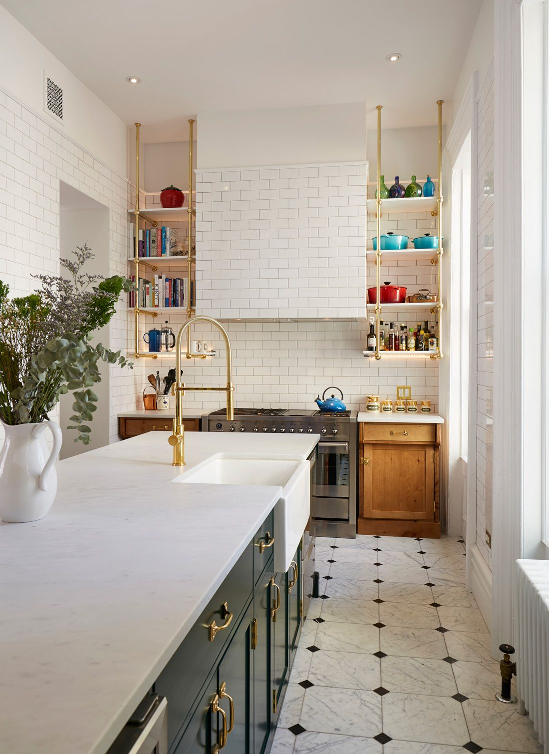 Kitchen Design Brooklyn Enchanting Love That Slim Open Shelving  In The Details  Pinterest Review