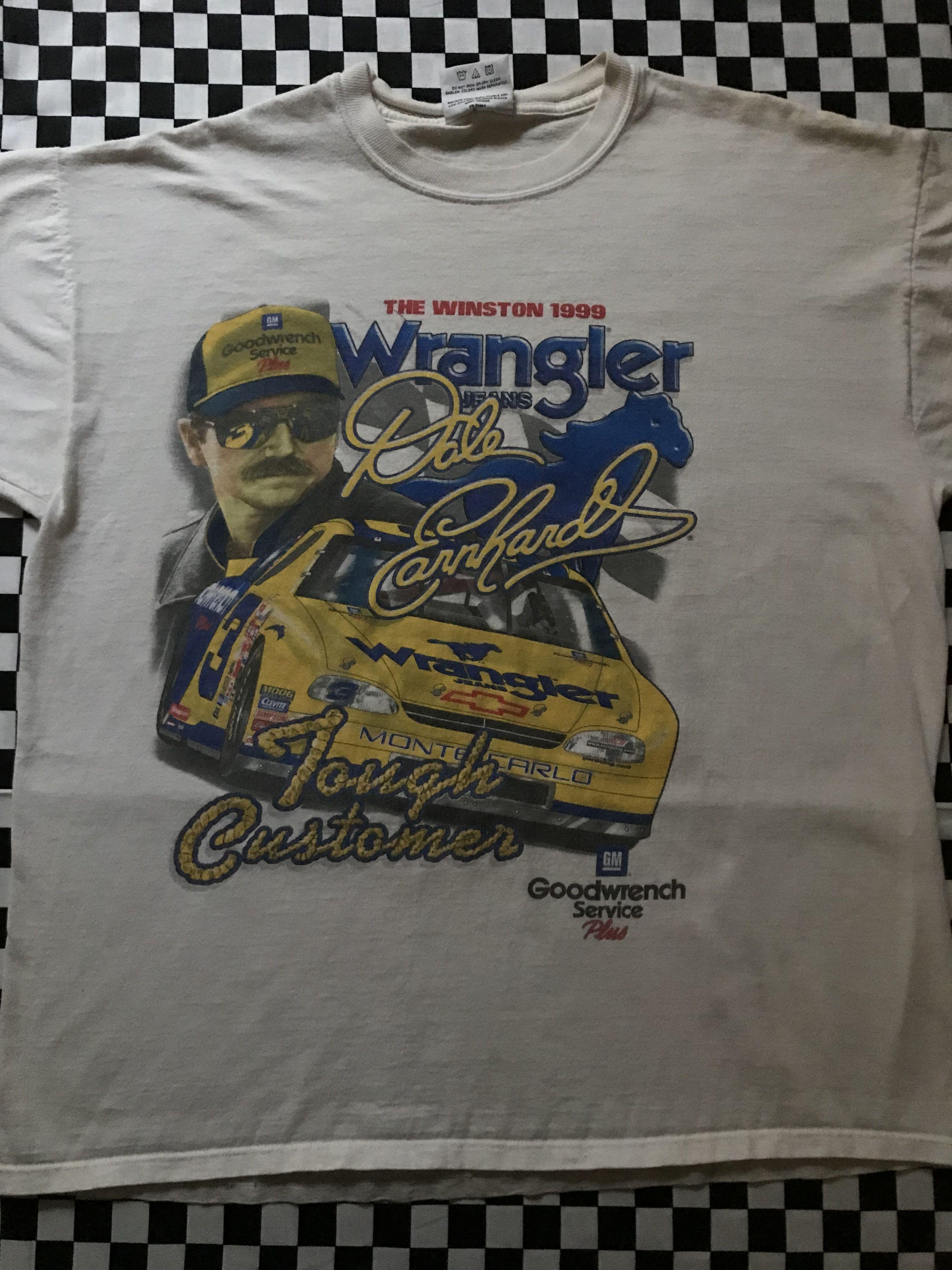Vintage Nascar Tee Racing Shirts Nascar Shirts Tees