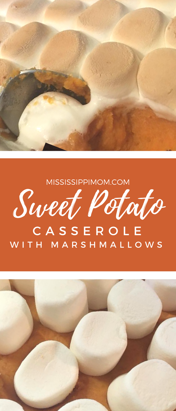 Easy Sweet Potato Casserole with Marshmallows - MississippiMom.com