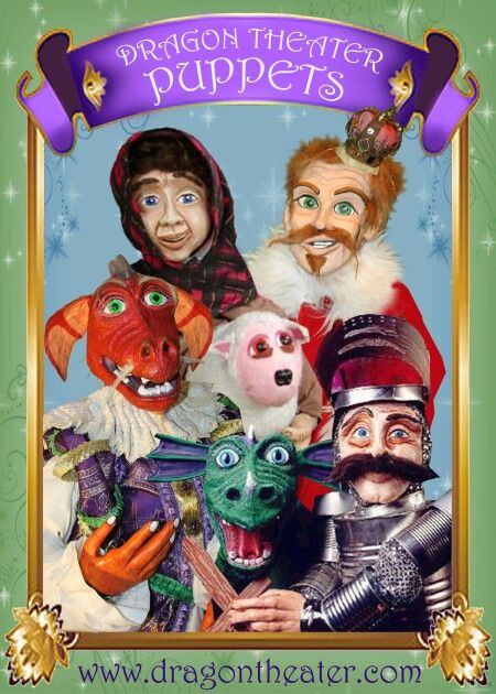 Image result for Dragon Theater Puppets
