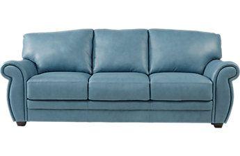 Martello Blue Leather Sofa Leather Sofa Best Leather Sofa Blue Leather Sofa