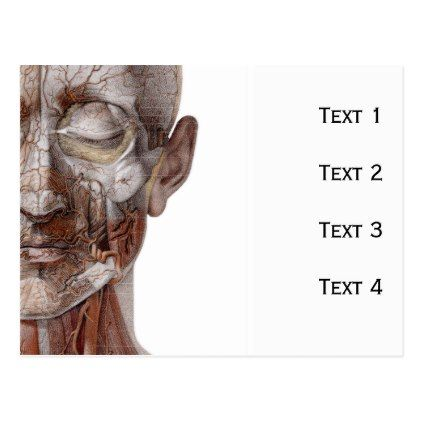 #nurse - #Skinless Face Postcard