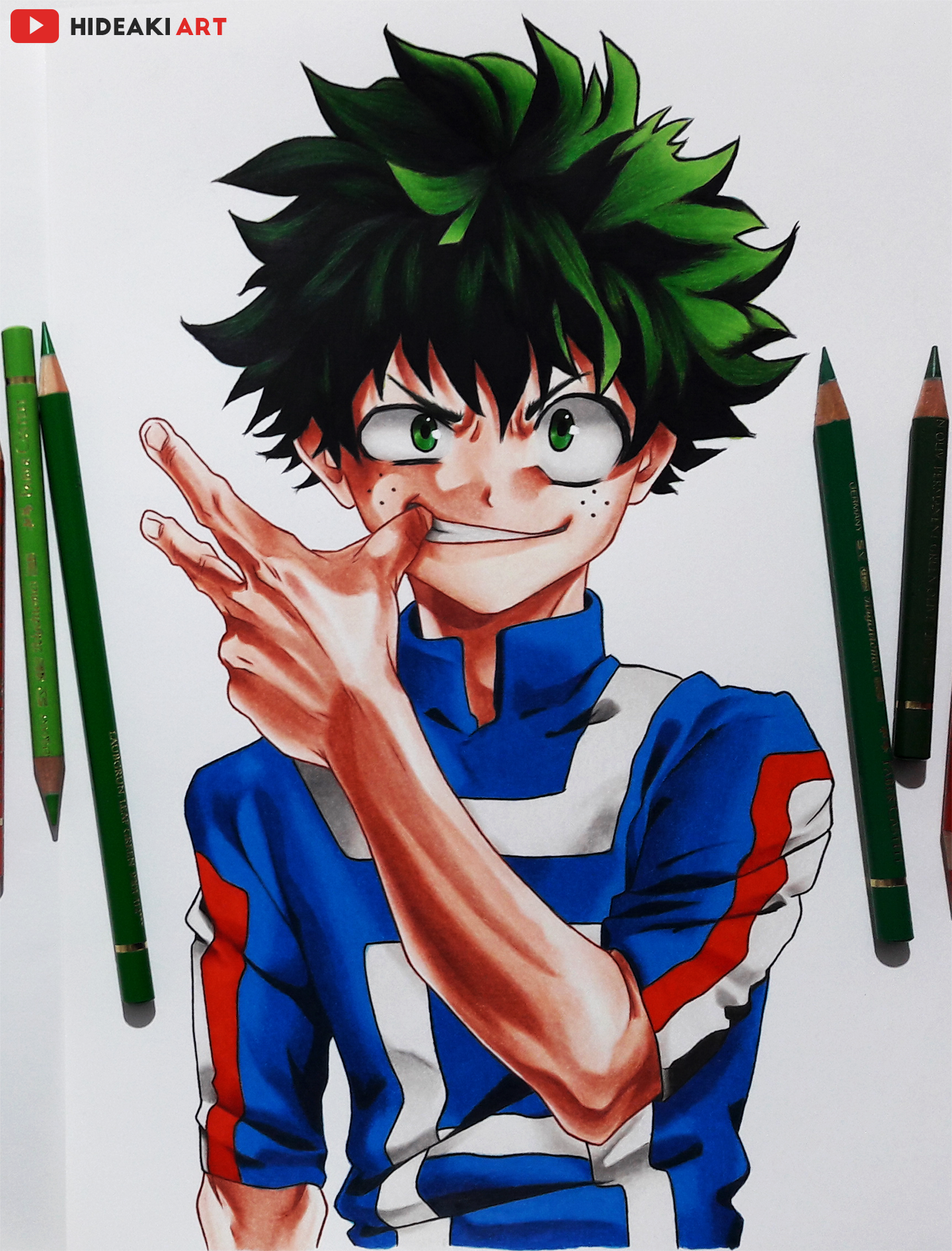 My Drawing Of Deku From My Hero Academia Desenho De Anime Desenhos De Anime Desenho De Ninja