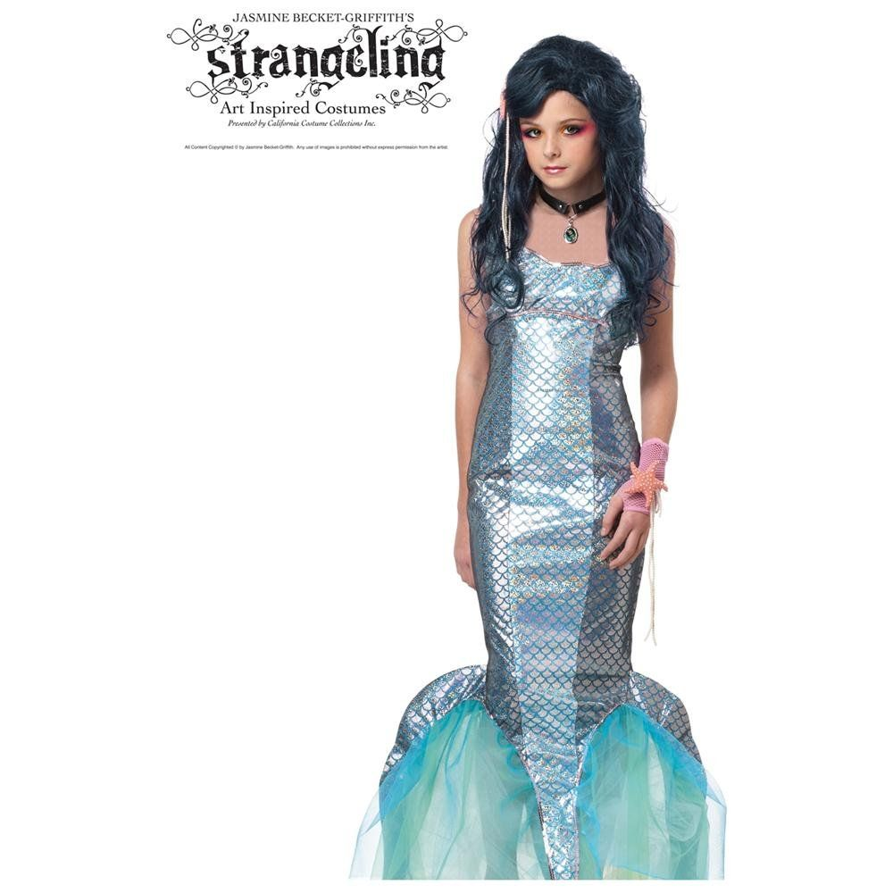 strangeling mermaid halloween costume child mermaid costume rakutencom kids mermaid costume - Mermaid Halloween Costume For Kids