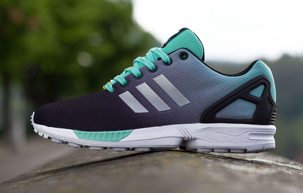 Adidas Zx Flux Noir Menthe
