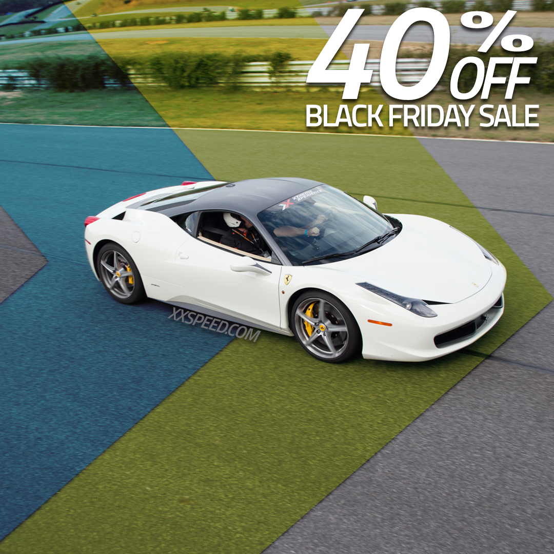 Don T Miss Out On Our Black Friday Weekend Deals Save Up To 40 Off Driving Experiences In A Supercar Supercar Driving Experience Xtreme Xperience Super Cars