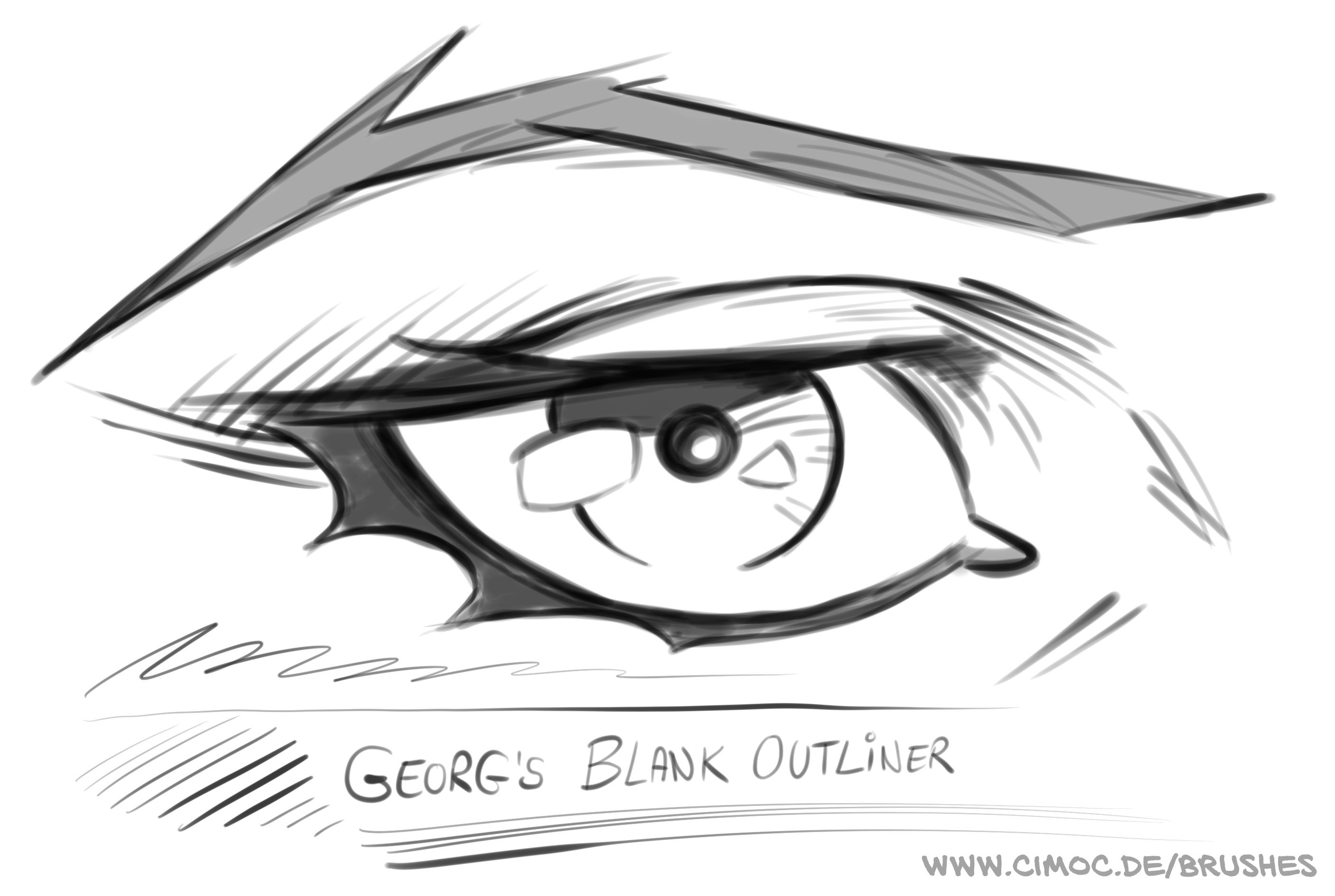 Georg's FREE SKETCH BRUSHES for Procreate | Procreate in